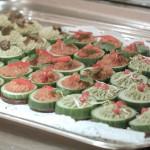 EcoWellness = Geniesse Dich Gesund ! Kreative Umsetzung durch Küchencrew Hotel INterConti unter Leitung von Küchenchef Chef Mischa Ferstl